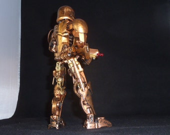 "10"" customized STEAMPUNK First Order Stormtrooper Star Wars fully posible 1 of a kind!"