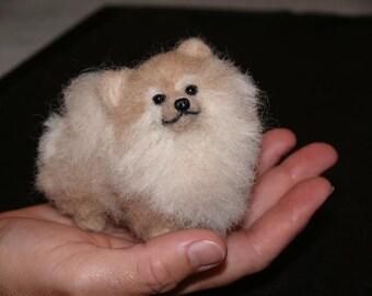 Custom Pet Portrait / Needle Felted Dog / Handmade Animal Sculpture / Lifelike / Poseable / Personalized Art for Pet Lovers