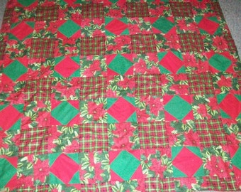 Christmas quilt/wallhanging/custom made with theme choice