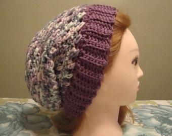 Purple Slouchy Hat, Womens Purple Slouchy Hat, Purple Slouch Hat, Womens Purple Hat, Purple Hat, Slouchy Hat, Slouch Hat, Slouchy Hat Purple