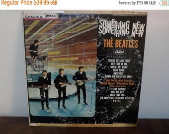 Vintage 1964 LP Record The Beatles Something New Capitol Records T-2108 Mono Very Good Condition 13440