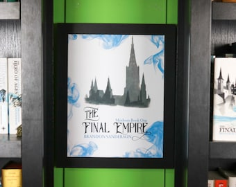 The Final Empire Print PHYSICAL PRINT \ Mistborn poster \ Brandon Sanderson \ Mistborn Trilogy