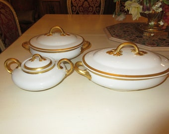 FRANCE LIMOGES WM Guerin & Co Serving Dishes