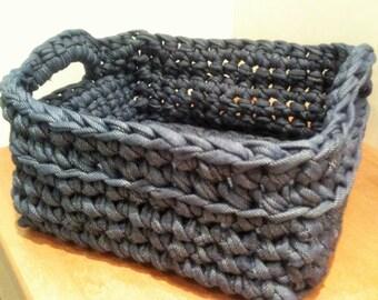 Handmade basket with bag