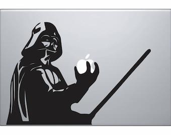 Star Wars Decal Darth Vader Decal MacBook Decal Darth Vader MacBook Decal Star Wars Macbook Decal Star Wars Laptop Sticker Macbook Decal