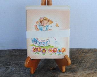 Vintage Greeting Card Set Get Well