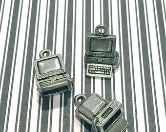 Computer - 4 pieces-(Antique Pewter Silver Finish)