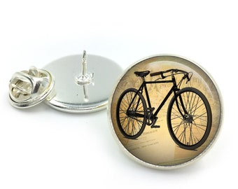 Vintage Bicycle Lapel Pin Badge, Bicycle Lapel, Bikes, Bike gifts, Vintage Bikes, Bike Lover, Gift For Him, Fathers Day,Groom,Gift for Men,2