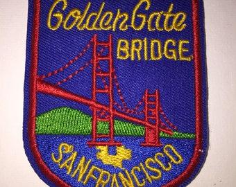 Golden Gate Bridge San Francisco California outdoor adventure Iron On Patch