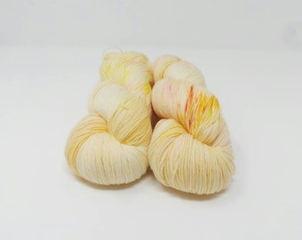 Princesses Don't Tell Lies - 4ply Deluxe Sock hand dyed yarn – Superwash Merino + Nylon 85/15