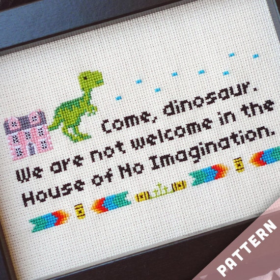 Friends TV Show Cross Stitch Pattern · No Imagination House