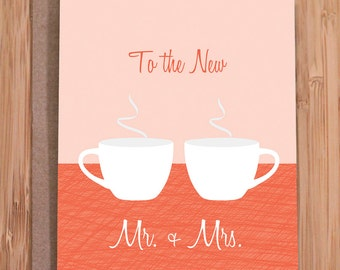 wedding card / mugs / funny greeting