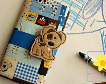 Crayon Holder, Crayon Roll, Crayon Caddy, Crayon Wallet, Crayon Roll Up, Crayon Keeper, Crayon Organizer, Crayon Tote, Dog, Puppy