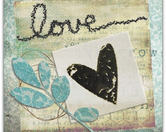 Greeting card - Love - 15cm x 15cm Valentine