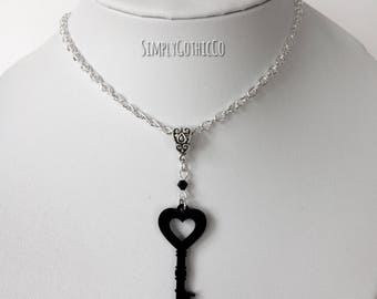 Gothic Victorian Key Necklace - LAST ONE