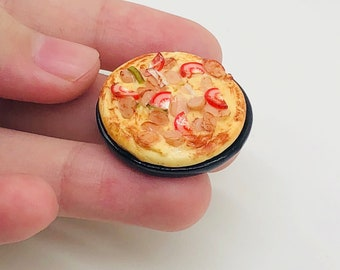 Miniature Pizza,Miniature food,Miniature Bakery,Miniature Sweet