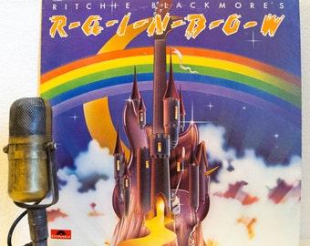 "Ritchie Blackmore's Rainbow(w/Ronnie James Dio) Vinyl Record Album 1970s British Rock Pomp Dungeons & Dragons, ""Rainbow""(Orig.1975 Polydor)"