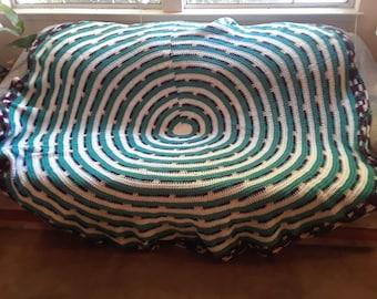 Crochet Native Circle Blanket