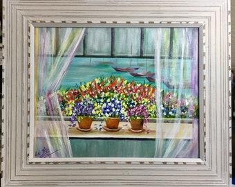 Window Garden by the Sea