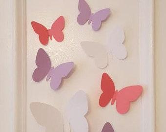 3d Butterfly Cut out, Paper Butterflies, Home Decor, Party Decor