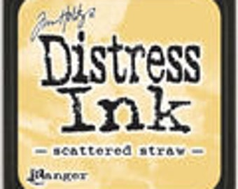 "Tim Holtz Distressed Ink ""Scattered Straw"""