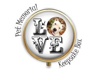 Custom Pet Keepsake Box, Pet Memorial Box, Gift for Pet Loss, Dog Love, Cat Love, Pet Lover Gift