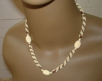 Copper and Ivory Choker