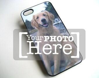 iPhone case - iPhone 5 Case personalisierte - Zubehör für Handytasche iPhone 5 - iPhone Foto Schwarz Hardcase