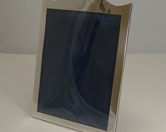 Handsome English Sterling Silver Photograph Frame - 1924