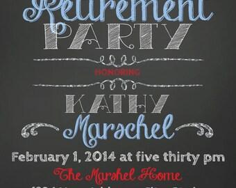 ON SALE Retirement Party Invitation
