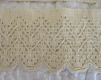 "Vintage Lace 2 1/2 yards x 3 1/2"" wide SALE"