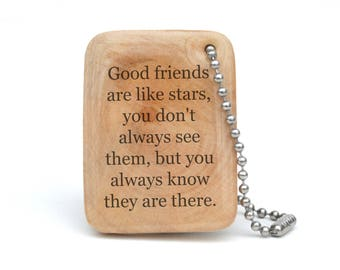 Best Friend Personalized Keychain, Going Away Gift for women, graduation gift.