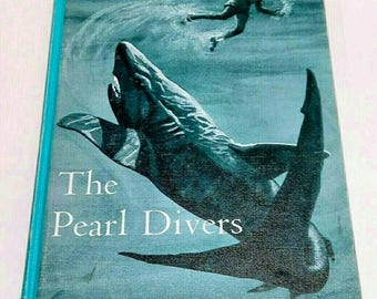 The Pearl Divers Vintage Book Deep Sea Adventure Series Book Four