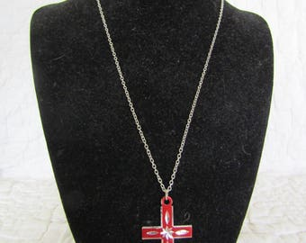 Vintage Necklace Cross