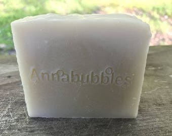 Tea Tree Essential Oil & Silk Soap - All Natural - All Natural! Soothing - No Synthetic Scent or Color Added