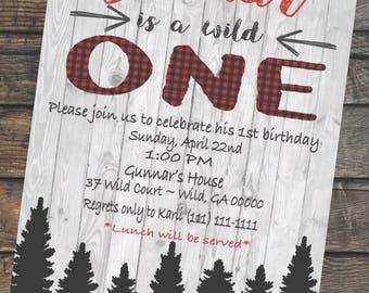 Wild One-Boy Birthday Party