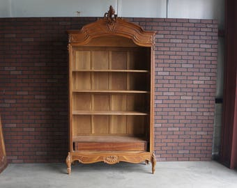 Antique French Armoire / French Provincial Armoire / Antique French Rococo Armoire