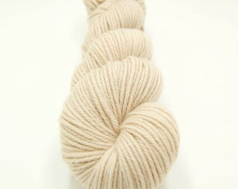 Merino Worsted Hand Dyed Yarn - Oyster