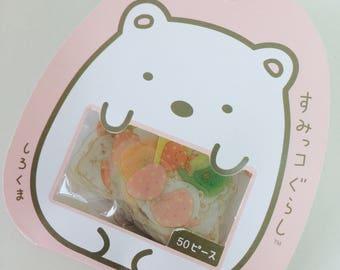 Little Bear Stickers - Planner Stickers - Sticker Flakes - Kawaii Stickers