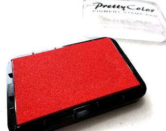 Stamp Pads, 9.1 x 6.2 cm, red (1483)