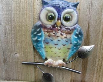 Garden Wall Art Owl Yard Wall Art Owl Bird Wall Art