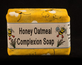 Honey Oatmeal Complexion Soap