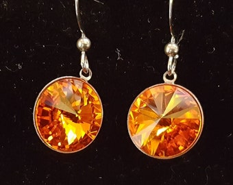 Swarovski Rivoli earrings