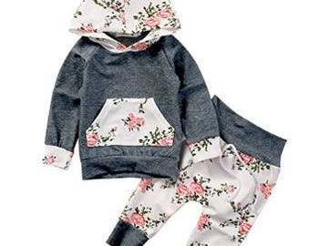 Baby girl Sweatshirt and pants.