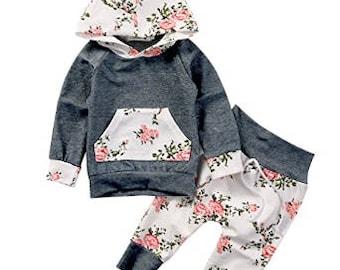 Baby girl Sweatshirt and pants.