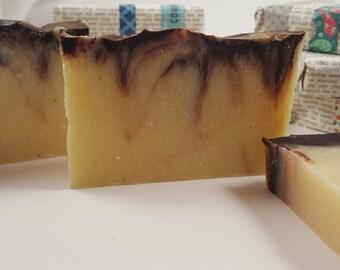 Handmade Cocoa Mint Soap