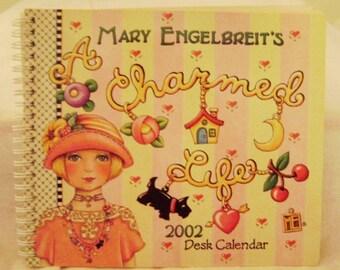 "Mary Engelbreit 2002 ""A Charmed Life"" Desk Engagement Calendar"