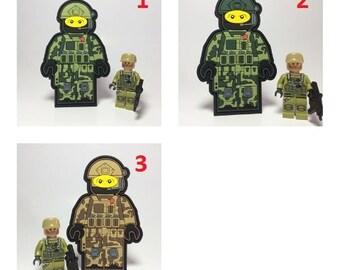 Custom Lego military army Morale Patch