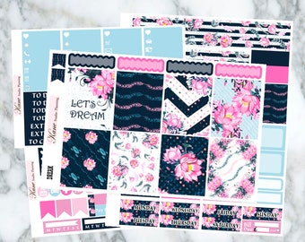 Dream // Weekly Kit - Erin Condren Life Planner Vertical - 160+ stickers