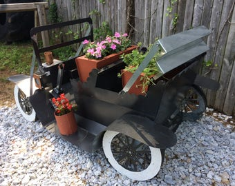 Model T Planter Garden Stucture